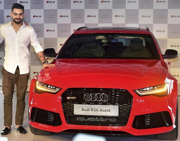 5 Pics That Show Virat Kohli S Love For Audi Cars