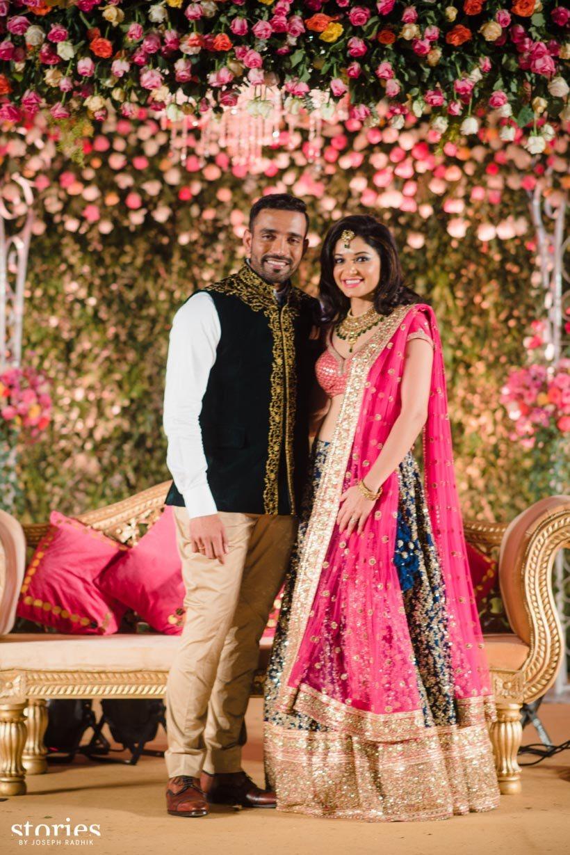 Hitesh wedding