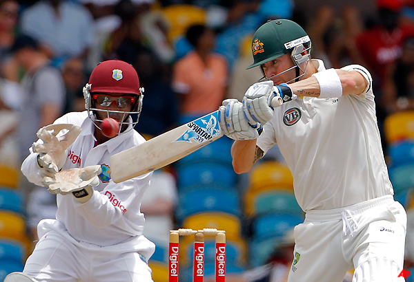 Australia Beats West Indies By 3 Wickets