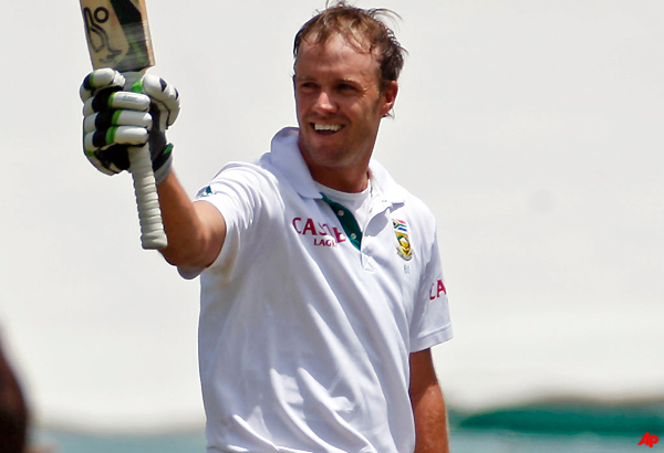 De Villiers Set For Big Workload As New Skipper