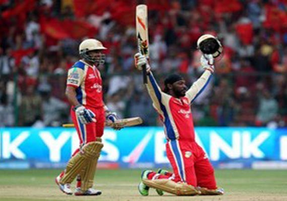 IPL6: McCullum congratulates Gayle for breaking his record