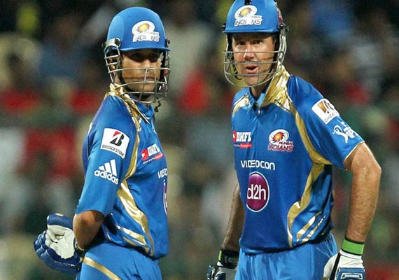 IPL 6:  Sachin, Ponting partnership outclasses Pune, Mumbai on top of the table