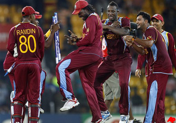West Indies celebrates 'Gangnam style' at T20