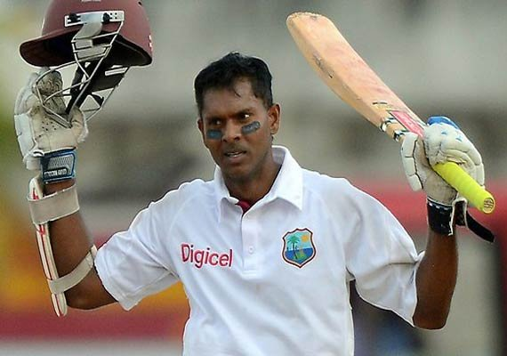 WI vs BAN: Chanderpaul hits century for WI against Bangladesh