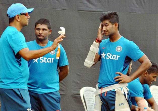 Still can't believe Rahul sir is our coach: Sarfaraz Khan