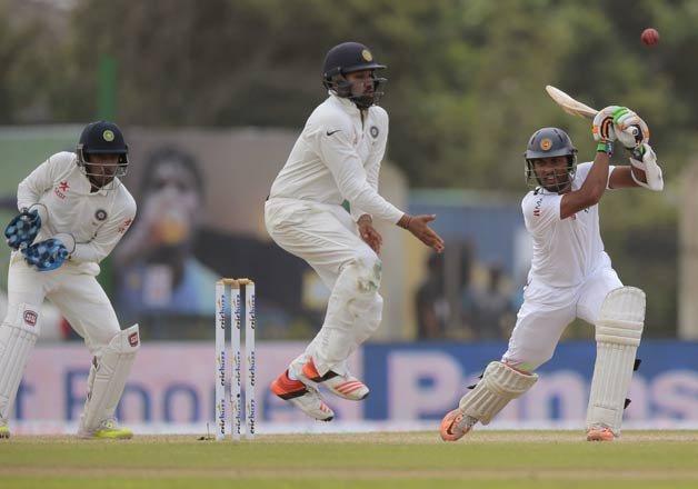 Sri Lanka Take 71 Run Lead Against India At Tea