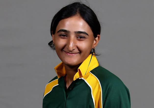 Pakistani female cricketer is a...
