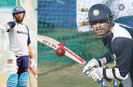 Sehwag, Yuvraj Take Part In Net Practice