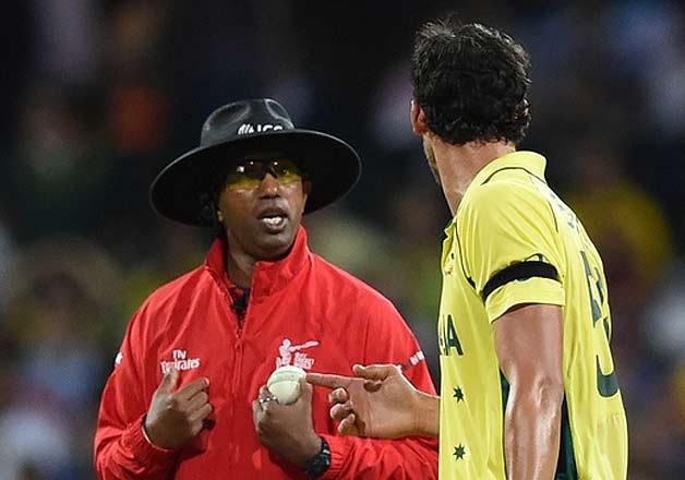 Kumar Dharmasena first to play and...