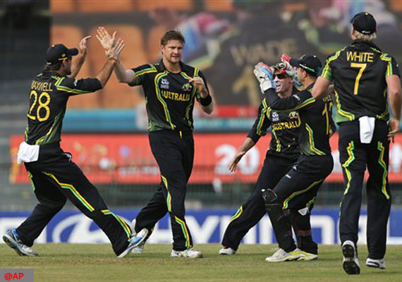 All-round show by Watson as Aus beat Ireland by 7 wkts