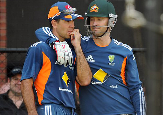 It Will Feel Weird To Play Without Ponting, Says Clarke
