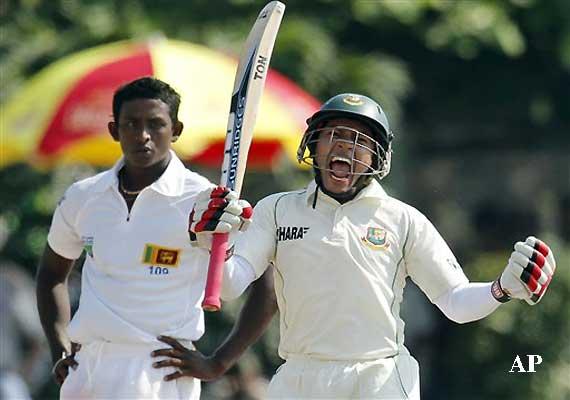 Mushfiqur Rahim (Cricketer) playing cricket