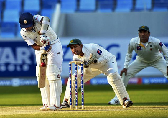 Pakistan-Sri Lanka series: Day 1, 3rd test, Sri Lanka 64-1 at lunch