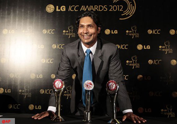 Sangakkara named ICC Cricketer and Test Player of the Year