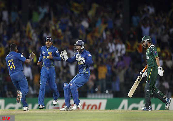 Sri Lanka beat Pakistan to enter World T20 final