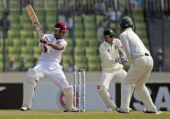 West Indies reaches 361-4 at stumps on day 1