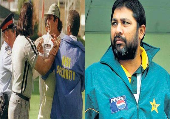 When Inzamam was called 'potato' by a spectator