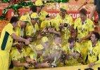 Bleary-eyed Australians celebrate World Cup win