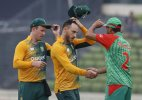 South Africa cruises to win over Bangladesh in 1st T20