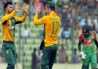 South Africa win T20 series against Bangladesh 2-0