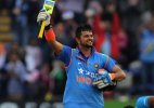 Suresh Raina completes decade in international cricket