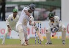 SL vs PAK: Only Karunaratne defies Yasir as Sri Lanka reach 272-8