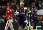 IPL 8: Russell powers KKR home by 4 wickets against KXIP