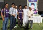 Tribute to late cricketer Ankit Keshri at Eden Gardens