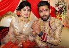 Ravindra Jadeja Reeva Solanki engagement photos
