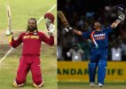 Sachin, Gayle choose same day for ODI double ton