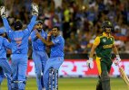 India-South Africa cricket series named Gandhi-Mandela Series