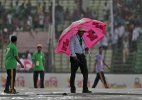 India vs Bangladesh: Rain washes out second day's play