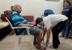 In Pics: Sachin Tendulkar seeks blessings from Ramakant Achrekar on 'Guru Purnima'
