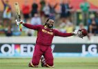 World Cup 2015: Gayle's record 215 lifts West Indies to 73 run win