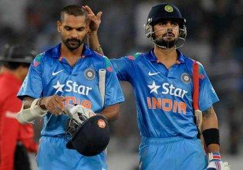 Kohli steady at 4th, Dhawan rises to 6th in ICC rankings
