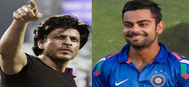 How King Khan made Virat blush during IPL7 opening ceremony