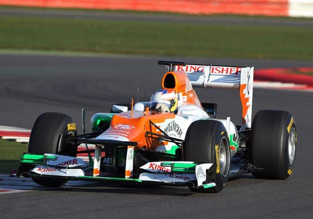 Force India drivers to start 13th,...