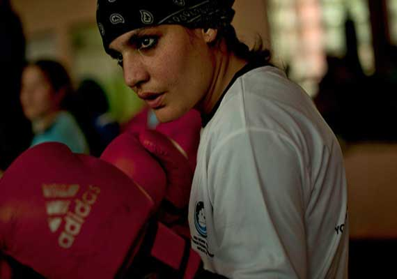 Know Sadaf Rahimi, first Afghan female boxer to be invited to the 2012 London Olympics