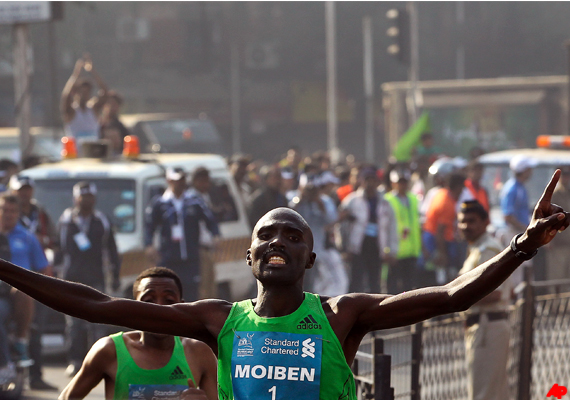 Moiben, Abeyo Win Mumbai Marathon; India's Yadav Gets Olympic Berth