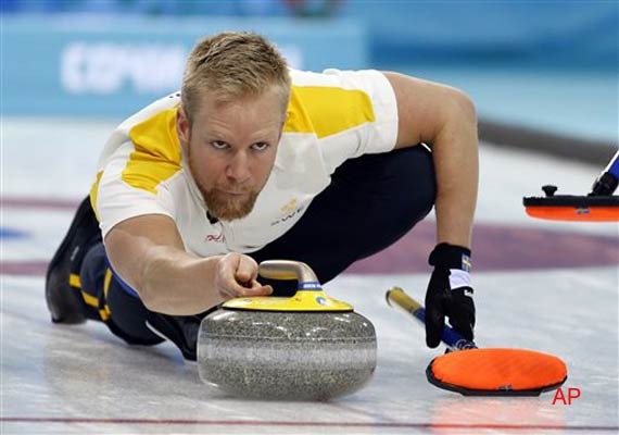 Sweden beat Canada 3-0 in men's curling at Sochi Olympics