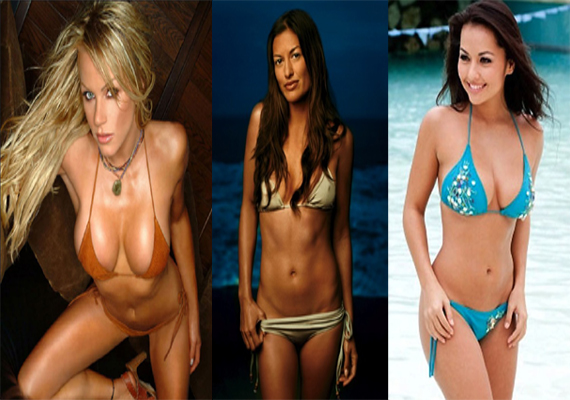 Watch professional women athletes turned bikini models