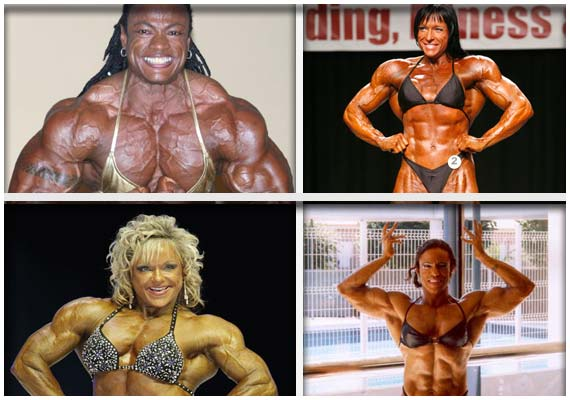 World's top 10 women bodybuilders