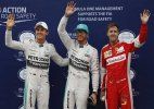 Hamilton on pole, Vettel 2nd in qualifying at Malaysian GP