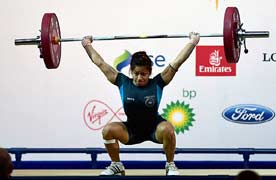 Glasgow Commonwealth: Lifters Sukhen, Sanjita win gold as India make rousing start at games