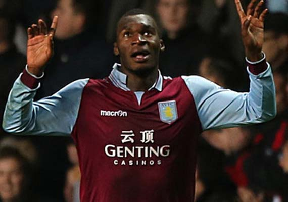 Benteke strikes as Villa beats Reading 1-0 in EPL