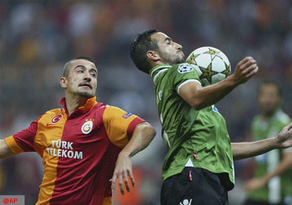 Braga beats Galatasaray 2-0 in Champions League