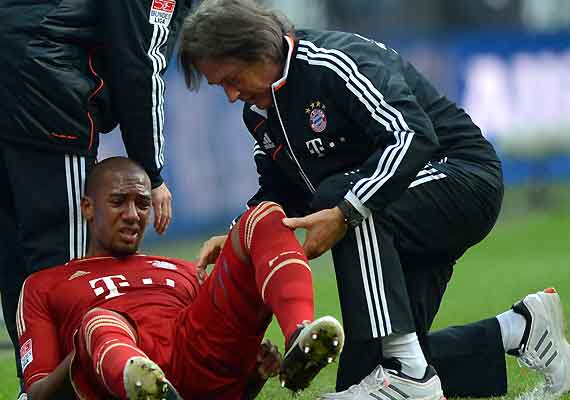 Germany's Boateng, Schmelzer ruled out of friendly