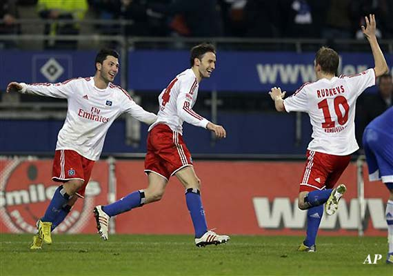 Hamburg beats Hoffenheim 2-0 in Bundesliga