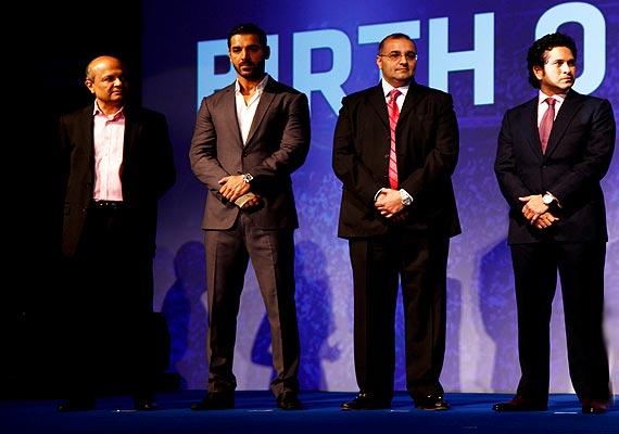Sachin Tendulkar, Ranbir, John, Abhishek launch Indian Super League