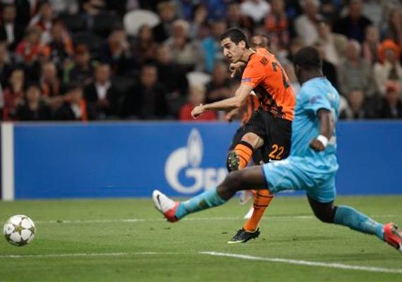 Shakhtar Donetsk beats Nordsjaelland 2-0